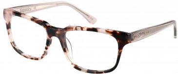 Superdry SDO-CHARLI Glasses in Gloss Pink Tortoise