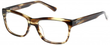Superdry SDO-USHI Glasses in Olive Horn