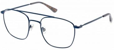 Superdry SDO-KARE Glasses in Matte Navy/Grey