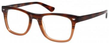 Superdry SDO-JONAH Glasses in Gloss Brown Horn Fade