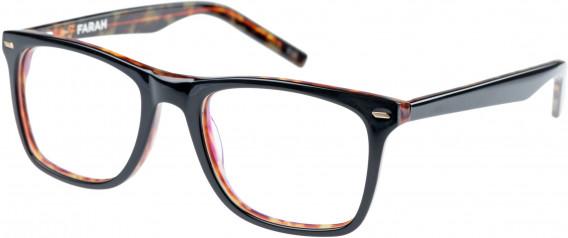 Farah FHO-1002 Glasses in Black/Tortoiseshell