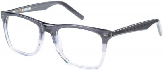 Farah FHO-1002 Glasses in Black/White Fade