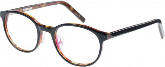 Farah FHO-1009 Glasses in Black/Tortoiseshell
