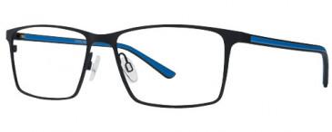 X Eyes 173 Glasses in Black