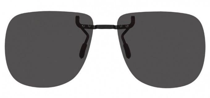 Clip-on Sunglasses Grey