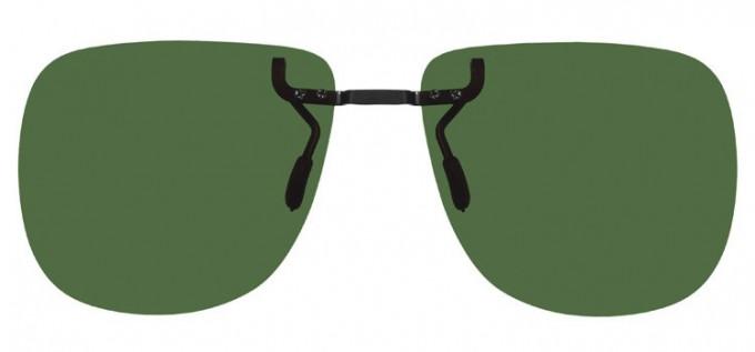 Clip-on Sunglasses Green