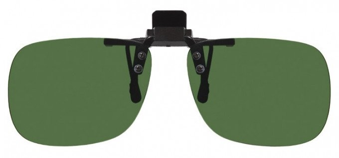 Clip-on Sunglasses Green