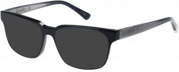 Superdry SDO-CHARLI Sunglasses in Gloss Black