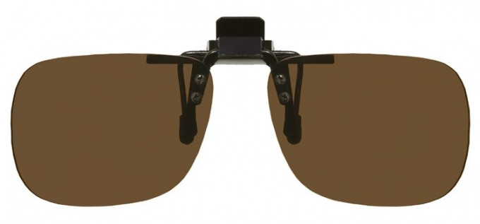 Clip-on Sunglasses Brown
