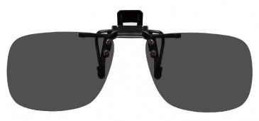 Polarised Clip-on Sunglasses Grey