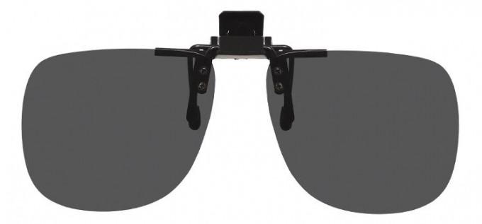 Polarised Clip-on Sunglasses Grey
