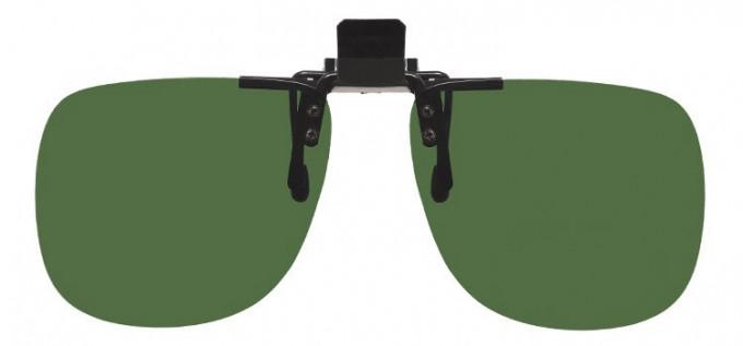 Polarised Clip-on Sunglasses Green
