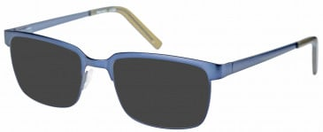 Farah FHO-1017 Sunglasses in Navy/Green