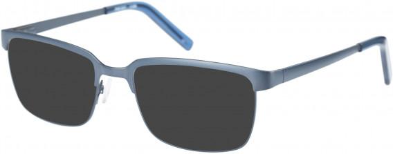 Farah FHO-1017 Sunglasses in Grey/Blue