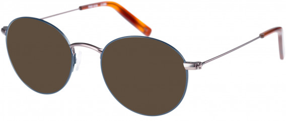 Farah FHO-1018 Sunglasses in Navy/Brown/Rust