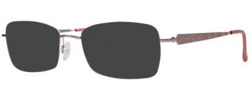Jaeger 308 Sunglasses in Rose