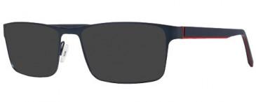X Eyes 170 Sunglasses in Blue