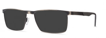 X Eyes 175 Sunglasses in Pewter