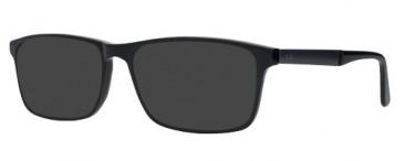 ZENITH 83-54 Sunglasses in Black