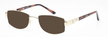 Rafaelle RAF112 Sunglasses in Gold