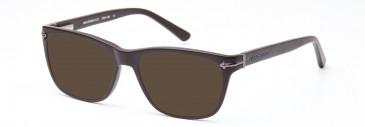 Crosshatch CRH130 Sunglasses in Matt Brown