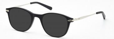 Crosshatch CRF535 Sunglasses in Matt Black