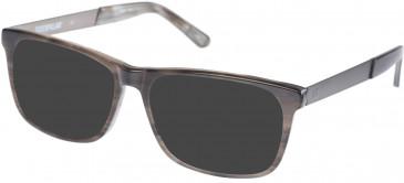 CAT CTO-RABBET Sunglasses in Gloss Grey Horn