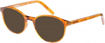 Farah FHO-1009 Sunglasses in Rust Tortoiseshell