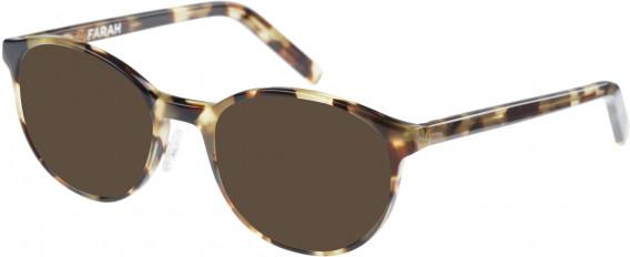 Farah FHO-1009 Sunglasses in Light Sand Tortoiseshell