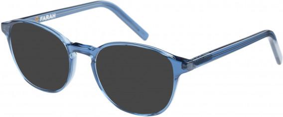 Farah FHO-1011 Sunglasses in Blue