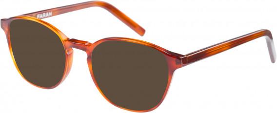 Farah FHO-1011 Sunglasses in Rust Tortoiseshell