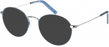 Farah FHO-1018 Sunglasses in Grey/Silver/Blue