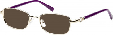Rafaelle RAF114 Sunglasses in Shiny Gold