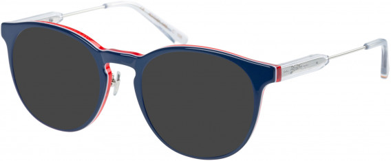 Superdry SDO-FREEWAY Sunglasses in Gloss Navy