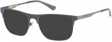 Superdry SDO-LOUIE Sunglasses in Matte Antique Brown