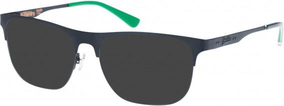 Superdry SDO-LOUIE Sunglasses in Matte Black