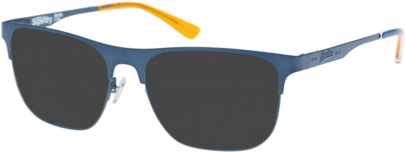 Superdry SDO-LOUIE Sunglasses in Matte Navy