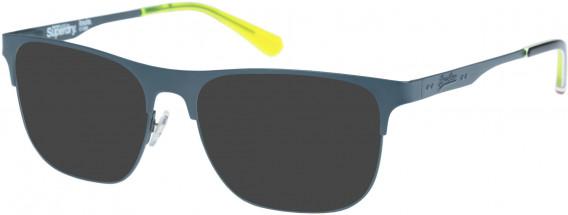 Superdry SDO-LOUIE Sunglasses in Matte Grey