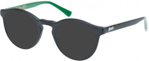 Superdry SDO-GORO Sunglasses in Matte Black