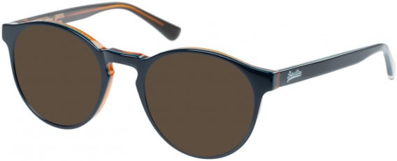 Superdry SDO-GORO Sunglasses in Gloss Navy