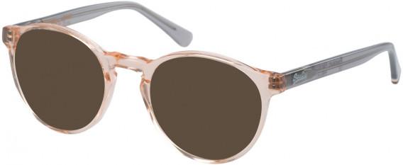 Superdry SDO-GORO Sunglasses in Gloss Pink Glitter