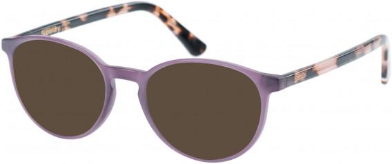 Superdry SDO-PYPER Sunglasses in Matte Purple