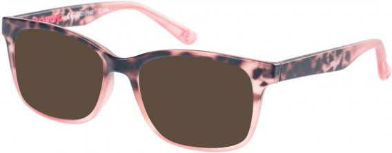 Superdry SDO-MAIKA Sunglasses in Matte Pink Tortoise