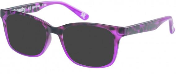 Superdry SDO-MAIKA Sunglasses in Matte Purple Tortoise