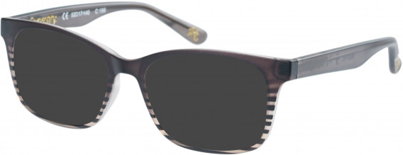 Superdry SDO-MAIKA Sunglasses in Matte Grey Stripe