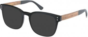 Superdry SDO-INDY Sunglasses in Matte Black