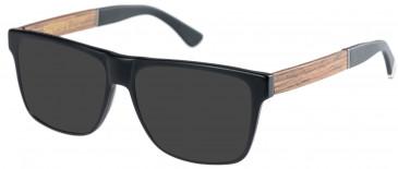 Superdry SDO-HUNTER Sunglasses in Matte Black