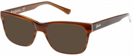 Superdry SDO-USHI Sunglasses in Horn