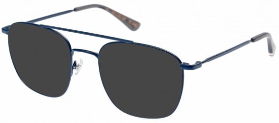 Superdry SDO-KARE Sunglasses in Matte Navy/Grey
