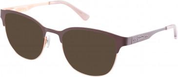 Superdry SDO-KANOJO Sunglasses in Matte Brown